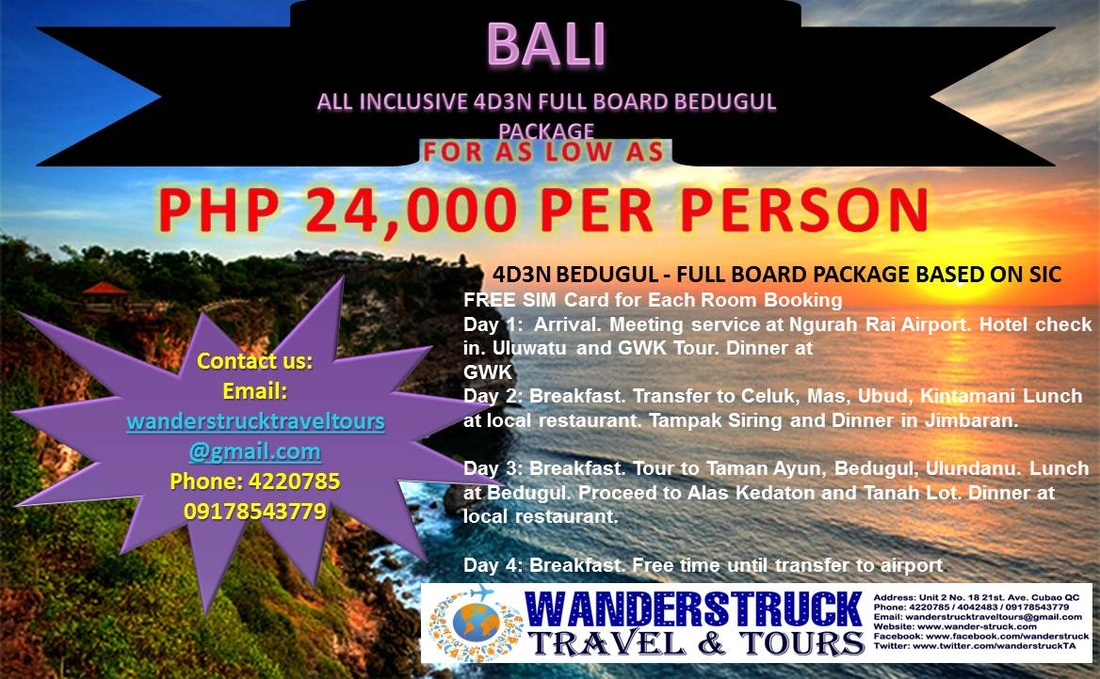 All In Bali Tour Package