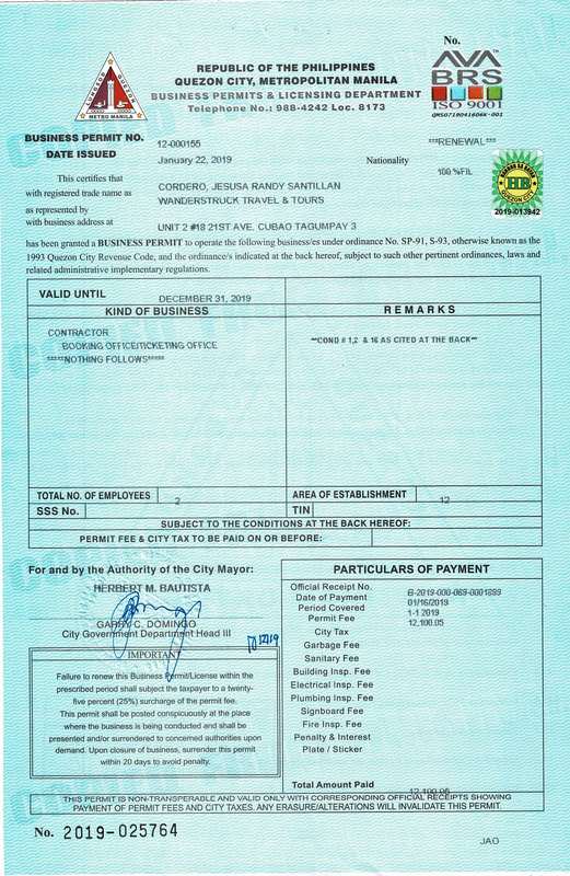 2019 Business Permit