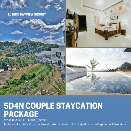5D4N EL NIDO BAYVIEW RESORT PACKAGE